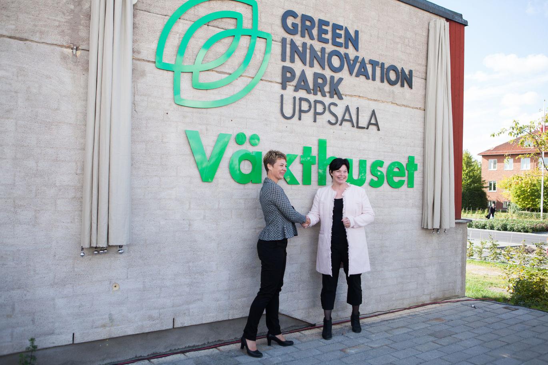 Green Innovation Park – en grön företagspark är invigd i Uppsala