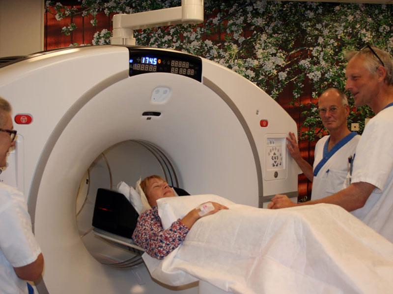 Akademiska sjukhuset blir internationellt referenscentrum för ny PET-CT-kamera