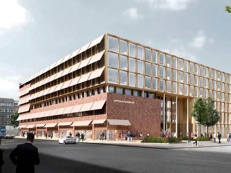 Så kommer Uppsalas nya stadshus att se ut