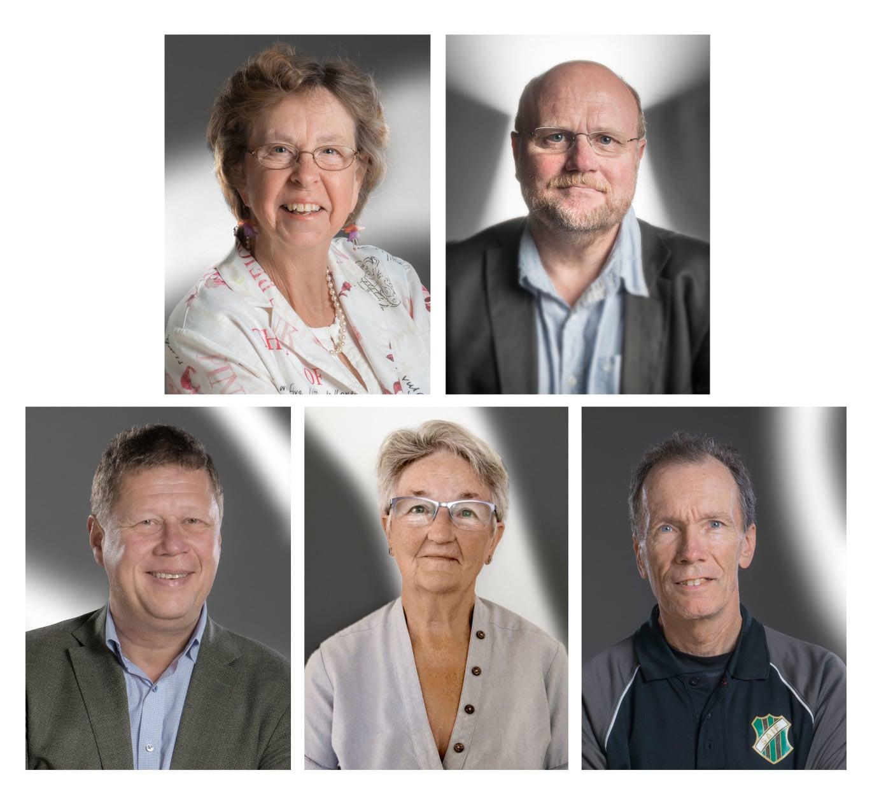 Fem Uppsalabor får hedersmedaljer