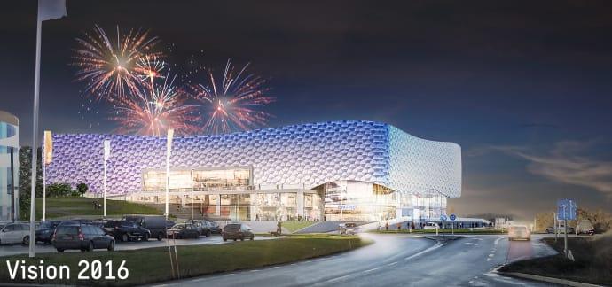 Kommunen välkomnar bygget av Uppsala Eventcenter