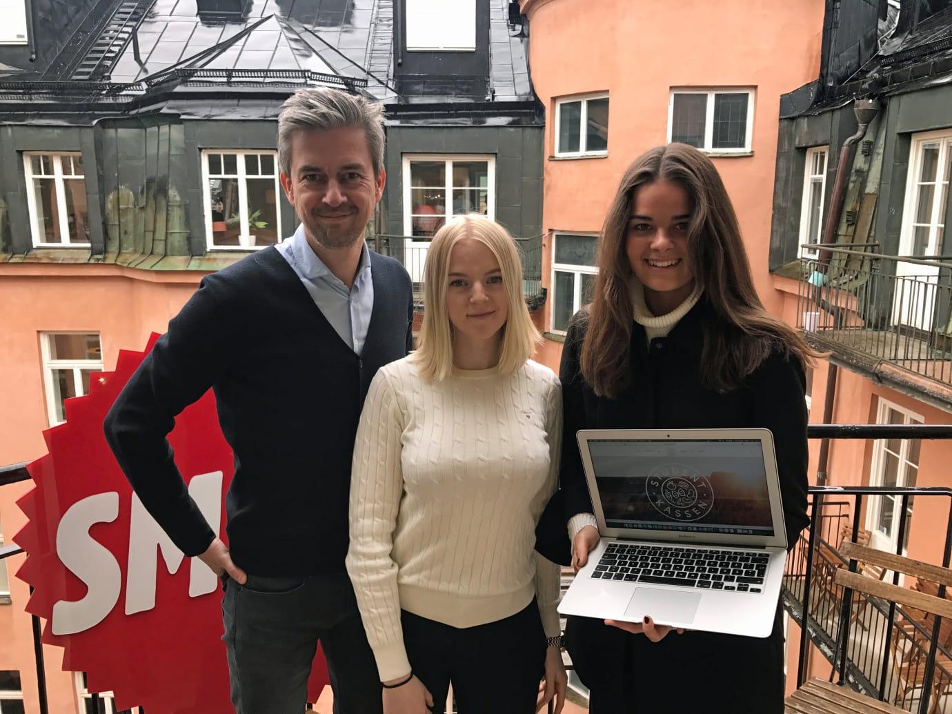 Matsmarta Studentkassen kan bli årets företag