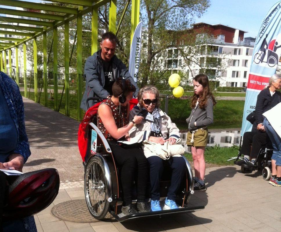 Uppsala topp tre bland landets cykelkommuner