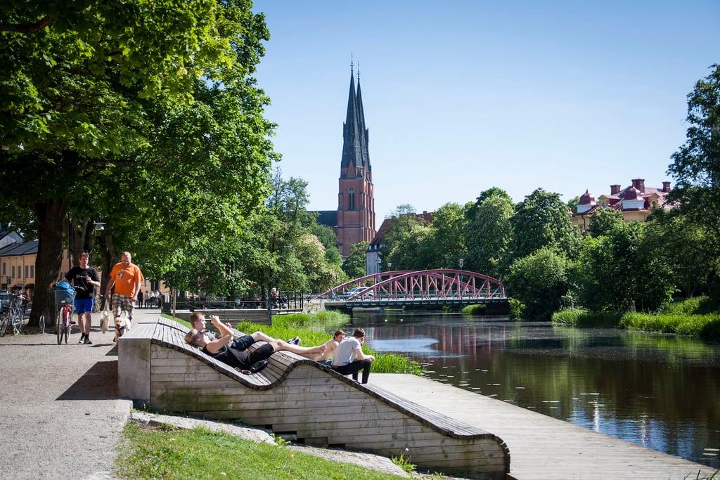 Uppsala kan bli Sveriges miljöbästa kommun 2017