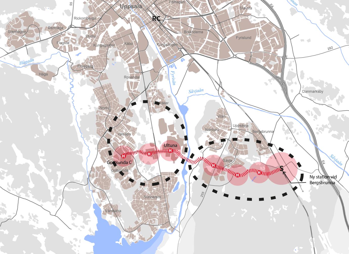 Södra Uppsala blir del av regeringens satsning på nya hållbara städer