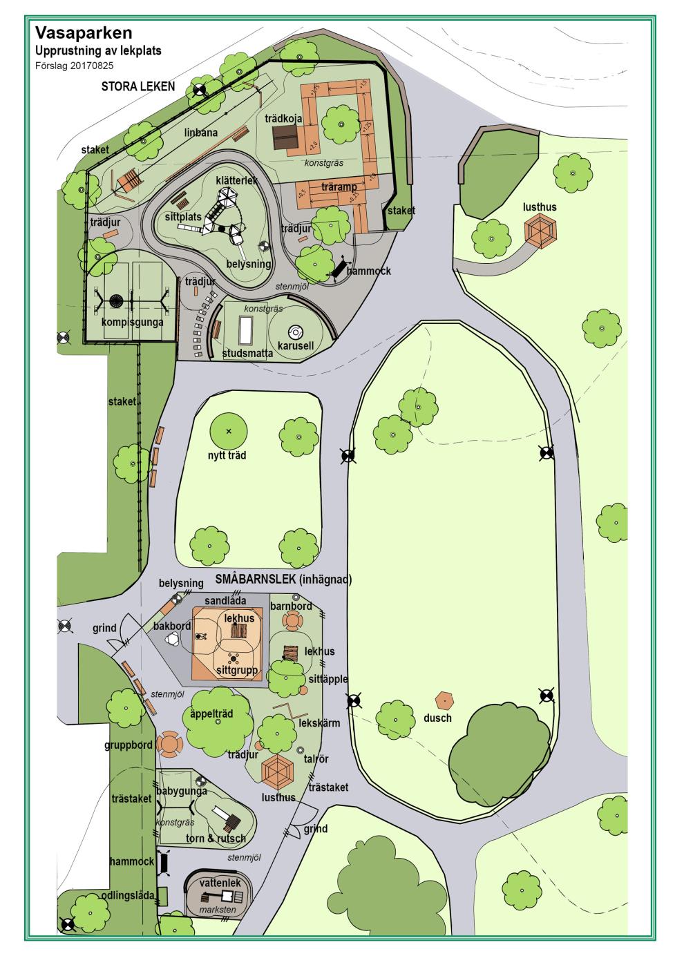 Uppsalaborna får sin önskelekplats i Vasaparken
