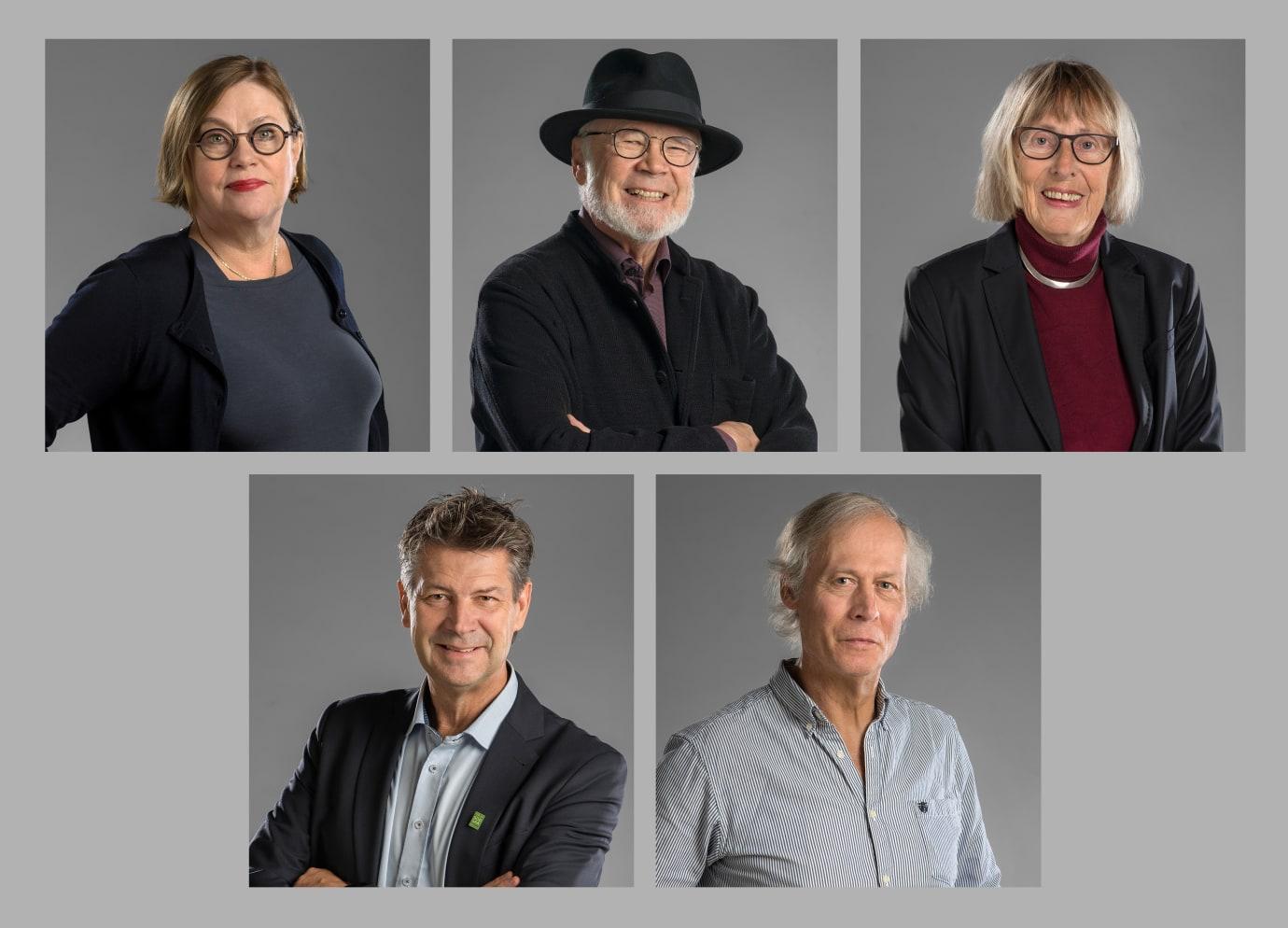 Fem Uppsalaprofiler får kommunens hedersmedalj
