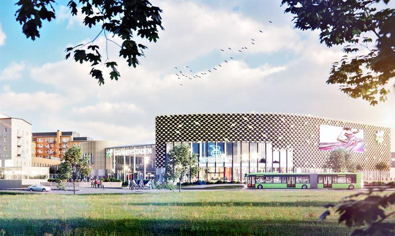 Gränbystaden växer – 14 000 nya kvadratmeter invigs i november