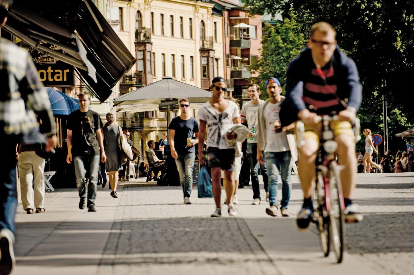 Sommarens besökare i Uppsala