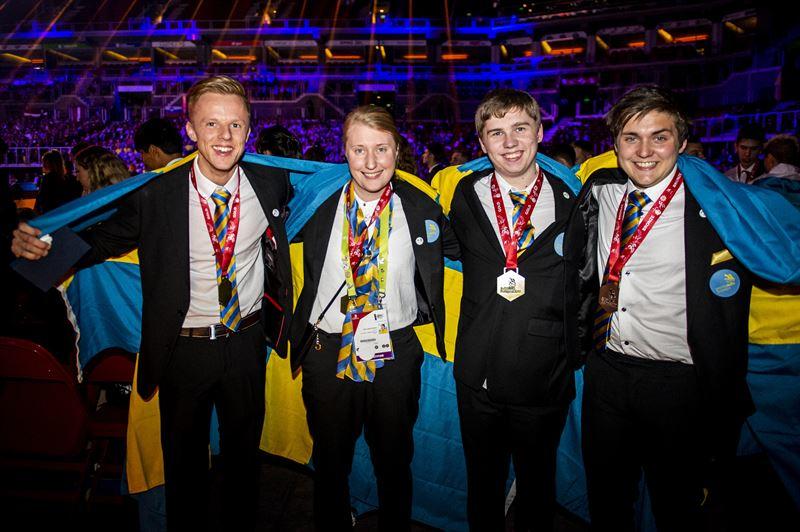 Yrkes-EM 2018 – tre guld och ett brons