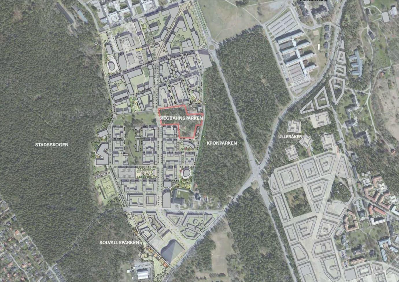 Uppsala kommun planerar att bygga en ny park i Rosendal