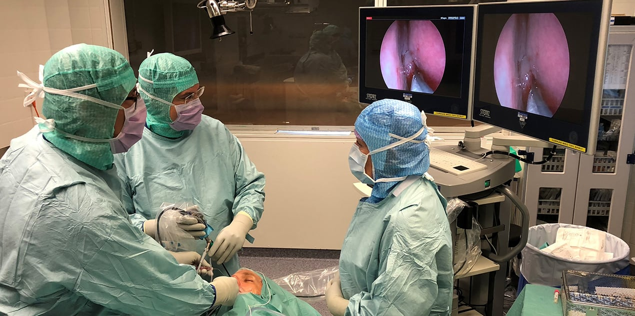 Akademiska startar center för skallbaskirurgi